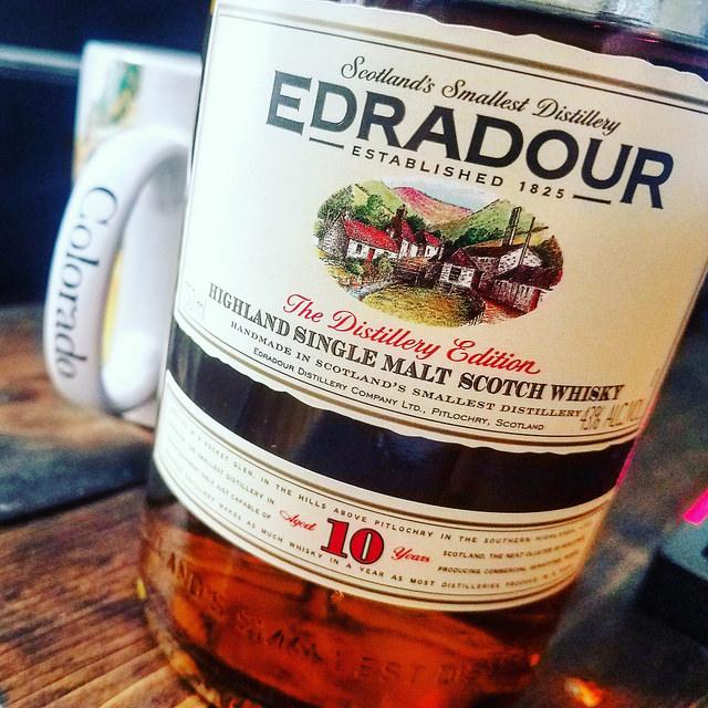 Обзор виски. Edradour 10.