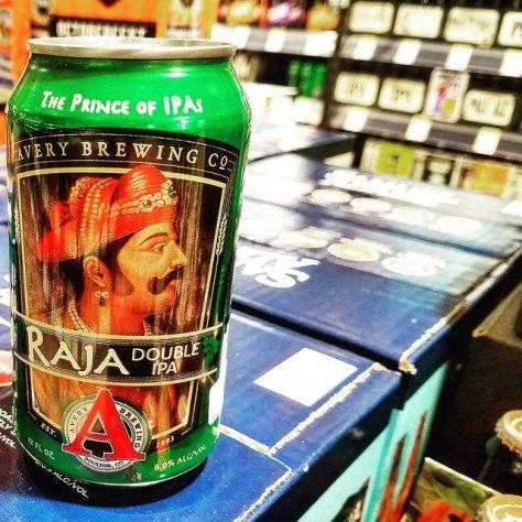 Обзор пива. Avery Raja.