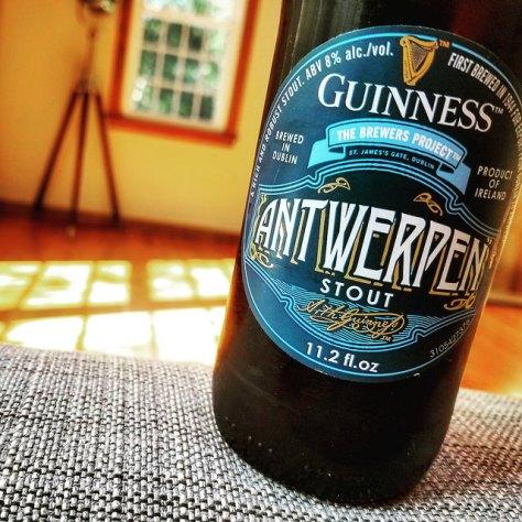 Обзор пива. Guinness Antwerpen Stout.