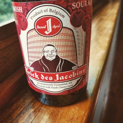 Обзор пива. Bockor Kriek Des Jacobins.