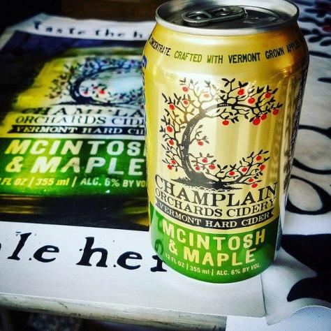 Обзор крепкого сидра. Champlain Orchards McIntosh & Maple.