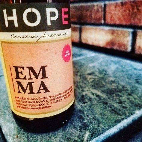 Обзор пива. Hope Emma.