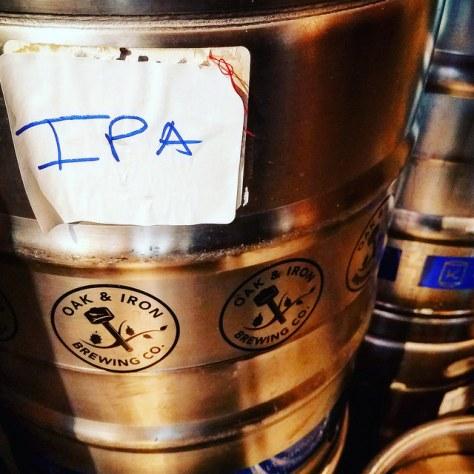 Крафтовая пивоваря. Oak and Iron Brewery.