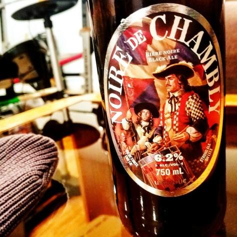 Обзор пива. Unibroue Noire De Chambly.