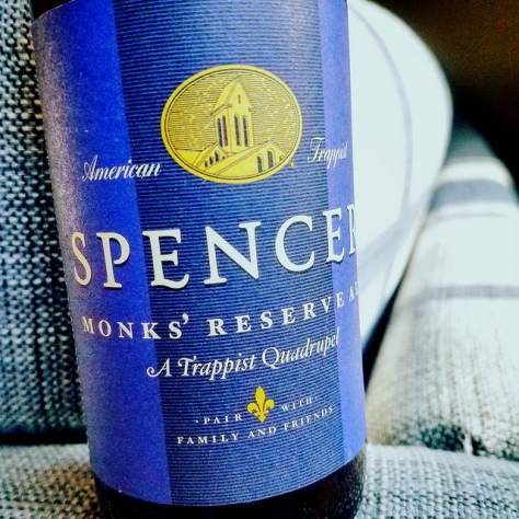 Американское траппистское пиво. Spencer Monks' Reserve Ale.