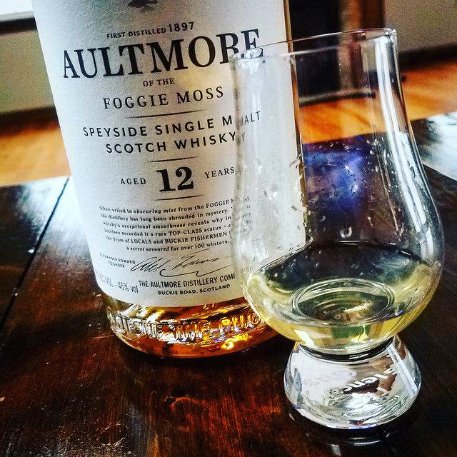 Обзор виски. Aultmore 12 Foggie Moss.