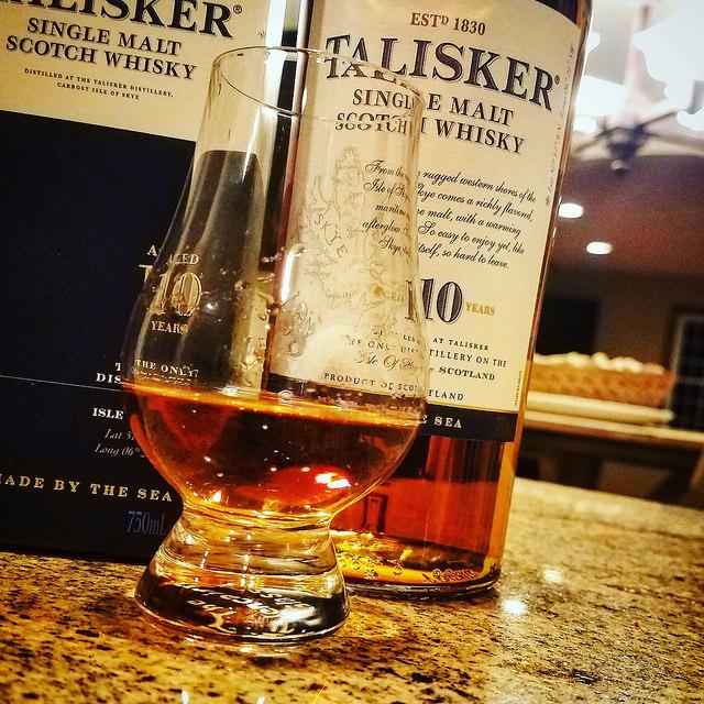 Обзор виски. Talisker 10.