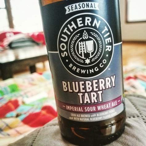 Обзор пива. Southern Tier Blueberry Tart.