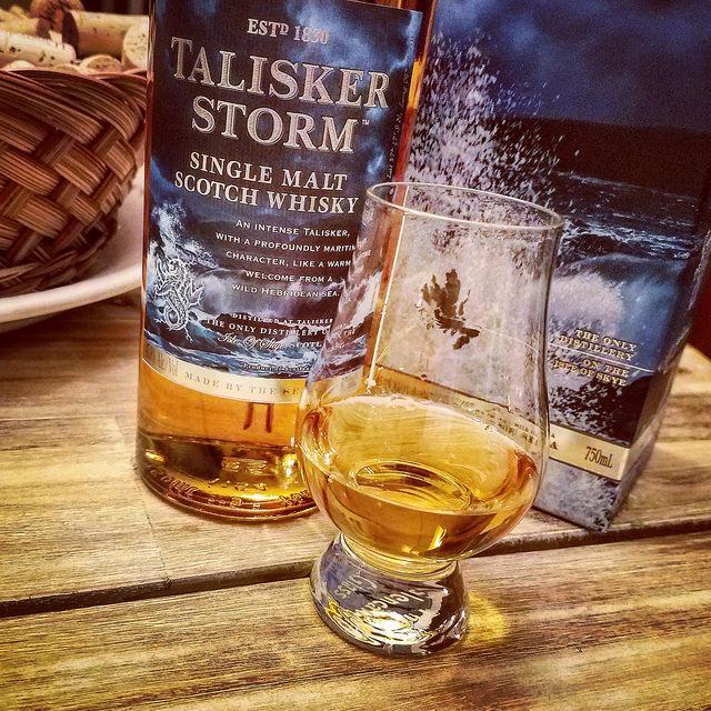 Обзор виски. Talisker Storm.