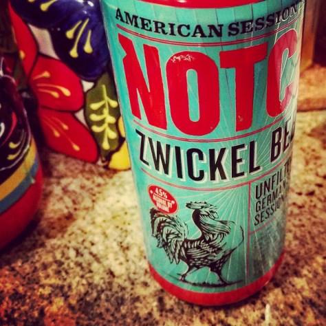 Обзор пива. Notch Zwickel Beer.