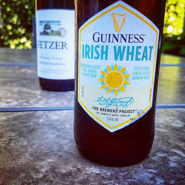 Обзор пива. Guinness Irish Wheat.