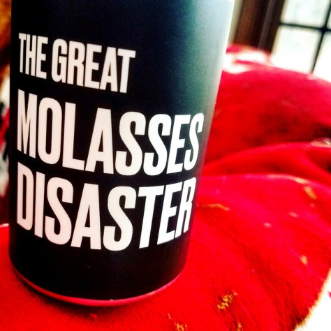 Обзор пива. Backlash The Great Molasses Disaster.