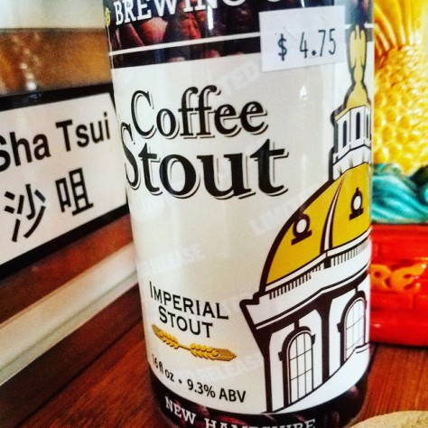 Обзор пива. Concord Coffee Stout.