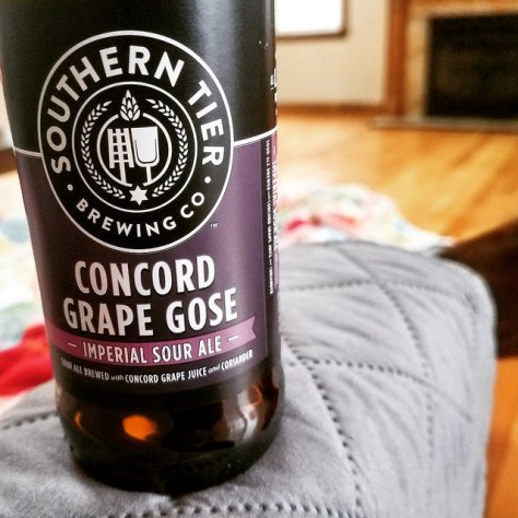 Обзор пива. Southern Tier Concord Grape Gose.
