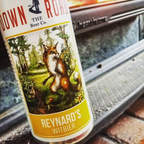 Обзор пива. Down the Road Reynard's Witbier.