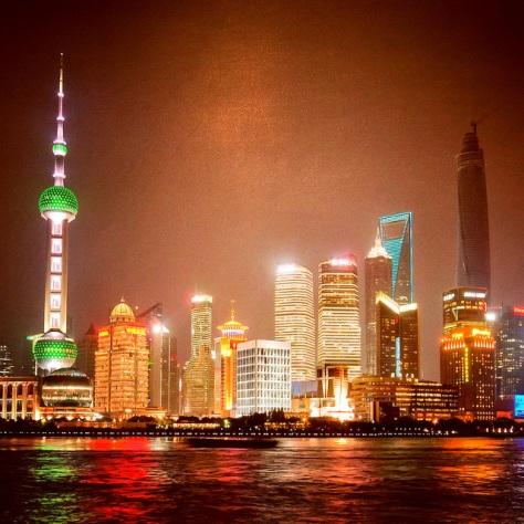 Китай. Шанхай. [China. Shanghai.]