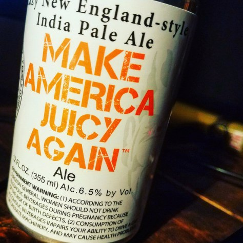 Обзор пива. Heretic Make America Juicy Again.