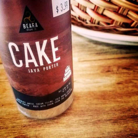 Обзор пива. Beara Irish Cake.