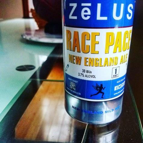 Обзор пива. Zelus Race Pace Ale.