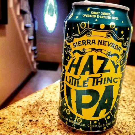Обзор пива. Sierra Nevada Hazy Little Thing IPA.