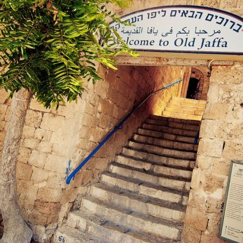 Израиль. Яффа. [Israel. Old Jaffa.]