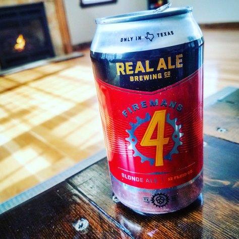 Обзор пива. Real Ale Fireman's #4.