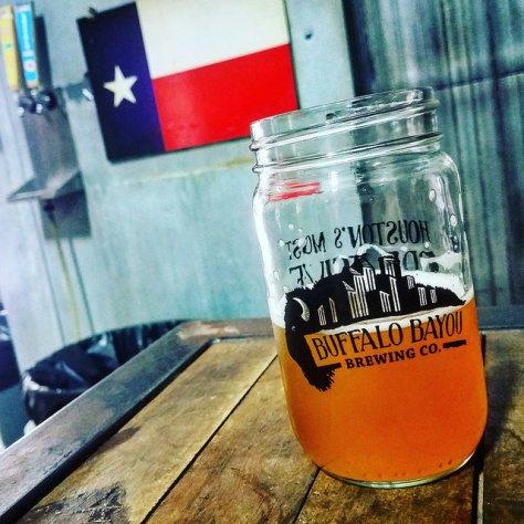 Крафтовая пивоварня. Buffalo Bayou Brewery.