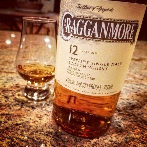 Обзор виски. Cragganmore 12.