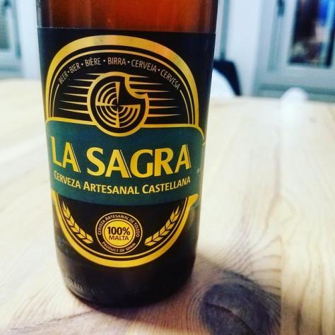 Обзор пива. La Sagra Cerveza Artesanal Castellana.