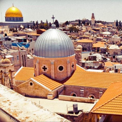 Израиль. Иерусалим. [Israel. Jerusalem.]