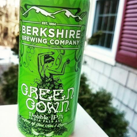 Обзор пива. Berkshire Green Gown.