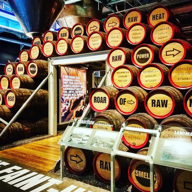 Пивоварня. Guinness.