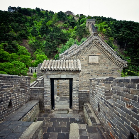 Китай. Великая Китайская Стена. [China. Mutianyu. The Great Wall.]