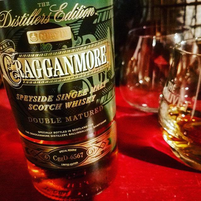 Обзор виски. Cragganmore Distillers Edition.