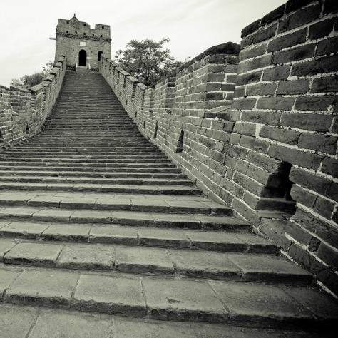Китай. Великая Китайская Стена. [China. Mutianyu. The Great Wall.]