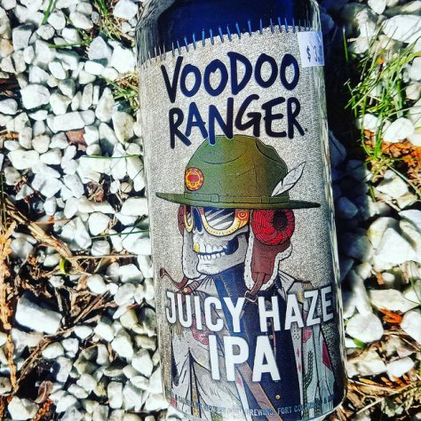 Обзор пива. New Belgium Voodoo Ranger Juicy Haze IPA.