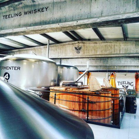Винокурня. Teeling Distillery.