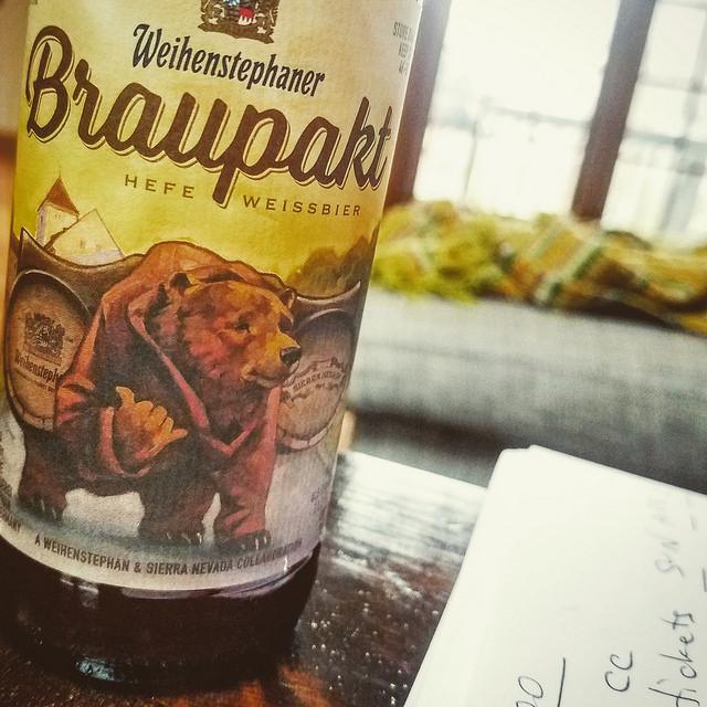 Обзор пива. Weihenstephaner Sierra Nevada Braupakt.
