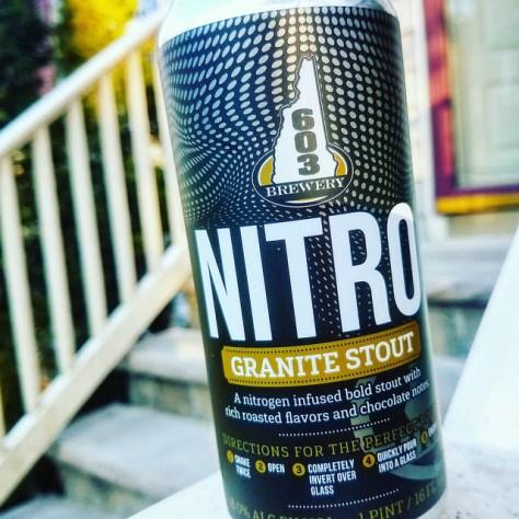 Обзор пива. 603 Granite Stout Nitro.