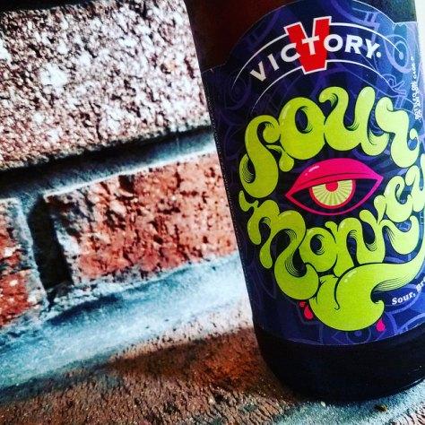 Обзор пива. Victory Sour Monkey.