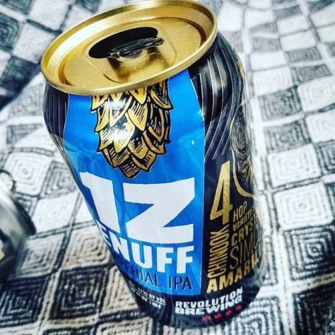 Обзор пива. Revolution 1ZENUFF.