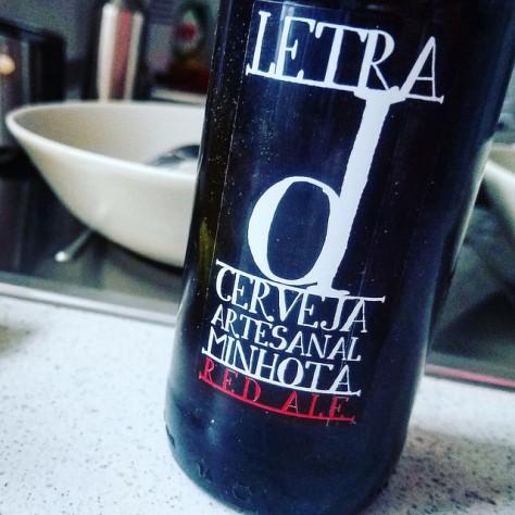 Обзор пива. Minhota Letra D.