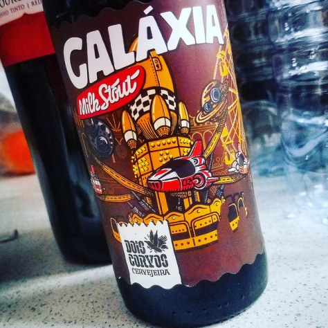 Обзор пива. Dois Corvos Galaxia.