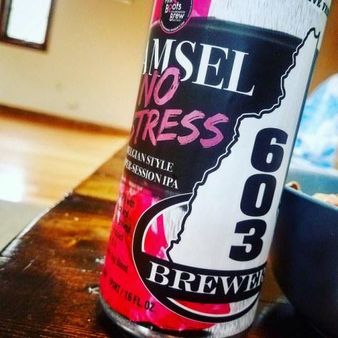 Обзор пива. 603 Damsel No Distress.