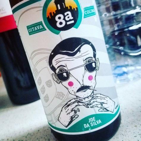 Обзор пива. Oitava Colina Joe da Silva.