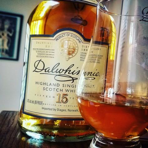 Обзор виски. Dalwhinnie 15.