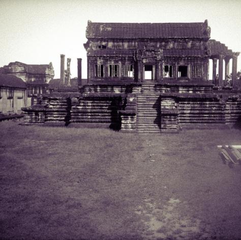Камбоджа. Ангкор-Ват. [Cambodia. Angkor Wat.]