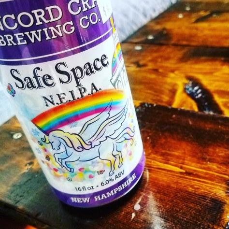 Обзор пива. Concord Safe Space NEIPA.