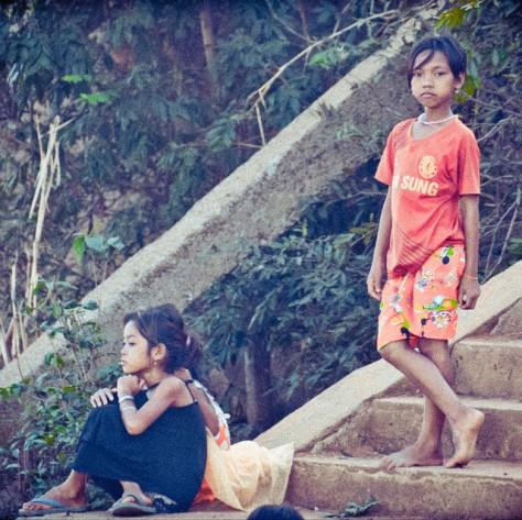 Камбоджа. Компонг Флук. [Cambodia. Kompong Phluk.]