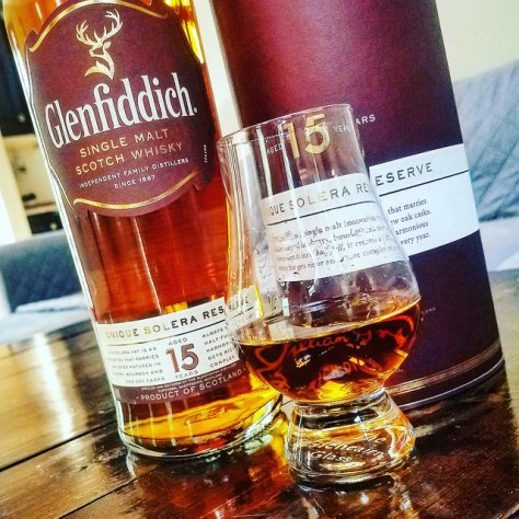 Обзор виски. Glenfiddich 15 Solera.